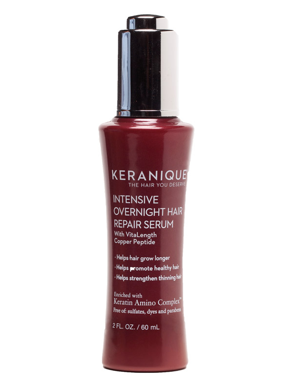 Keranique<sup>&reg;</sup> Intensive Overnight Hair Repair Serum