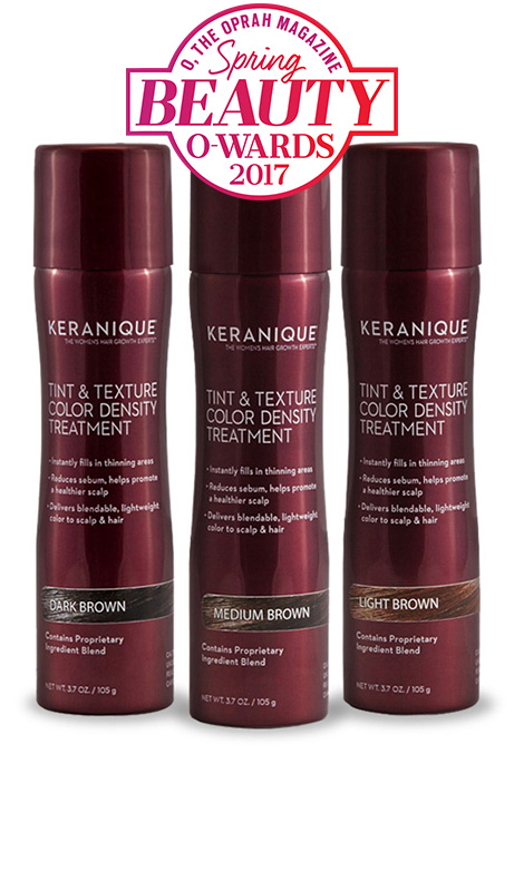 Keranique Tint & Texture, Color Density Treatment