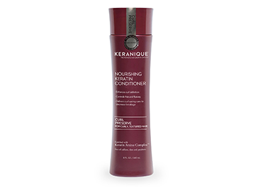 Keranique Curl Preserve | Nourishing Keratin Conditioner for Curly, Textured Hair