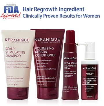 Keranique Hair Regrowth System Hair Loss Treatment
